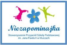 Stowarzyszenie Przyjaciół Szkoły Podstawowej im. j/ana Pawła II w Kluczach. Przejdź do strony stowarzyszenia.