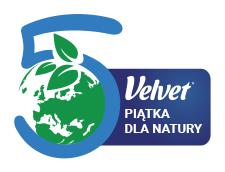 Logo projektu VELVET Piątka dla natury